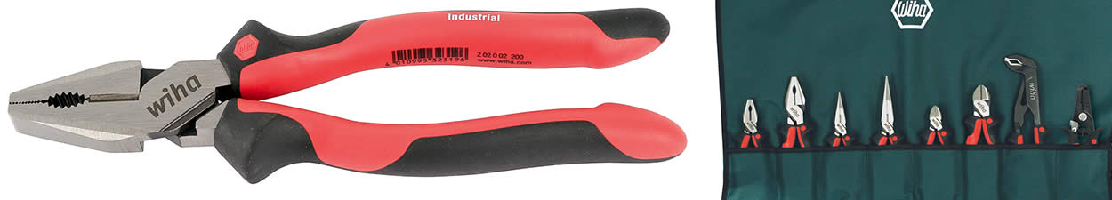 Industrial Softgrip Pliers