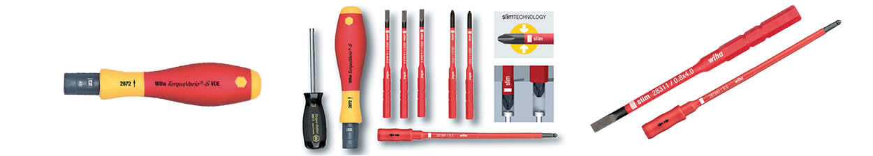 Insulated Torque Limiting Screwdrivers