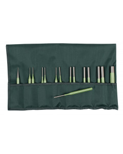 Metric Parallel and Tapered Punch 15 Piece Set