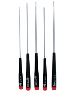 5 Piece Precision Slotted and Phillips Screwdriver Set