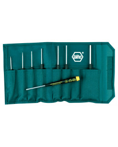 8 Piece ESD Safe Precision Hex Screwdriver Set - Inch