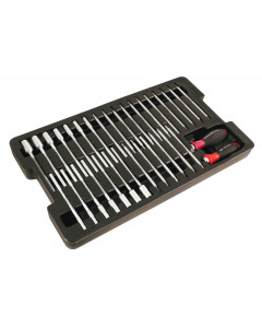 Drive-Loc VI Interchangeable Blade 33 Piece Set in Tray
