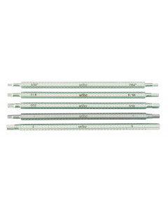 Drive-Loc VI Hex Inch and Metric 5 Blade Set
