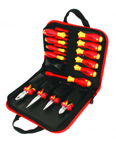 Insulated Pliers/Cutters/Slotted/Phillips/Inch Nut Drivers 14 Piece Set