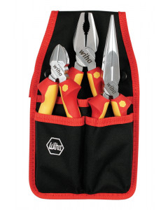 Insulated Pliers/Cutters 3 Piece Set