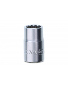 "3/8"" Drive Socket, 12 Point, 7/16"""