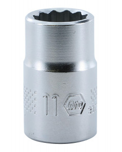 "3/8"" Drive Socket, 12 Point, 11.0mm"