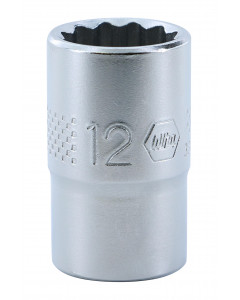 "3/8"" Drive Socket, 12 Point, 12.0mm"