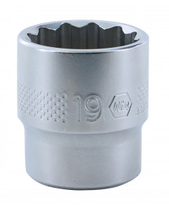 "3/8"" Drive Socket, 12 Point, 19.0mm"