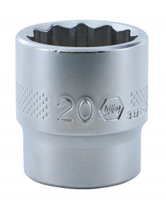 "3/8"" Drive Socket, 12 Point, 20.0mm"
