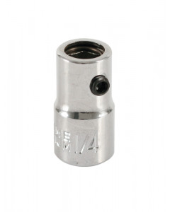 """Bit Holding Socket with Retaining Ring 1/4"""" Bit to 1/4"""" Square Drive"""