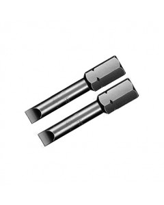 """Slotted Insert Bit 5/16"""" Drive 1.6"""" 2 Pack"""