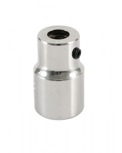 """Bit Holding Socket with Retaining Ring 1/4"""" Bit to 3/8"""" Square Drive"""