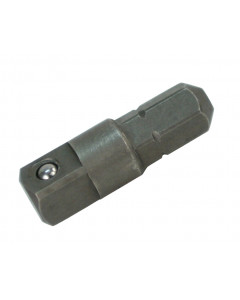 """1/4"""" Hex to 3/8"""" Square Socket Bit Adapter"""