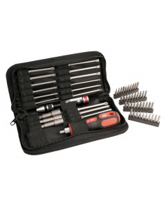 MRO 61 Piece Service Kit, Micro Bits, Power Blades, and Nut Setters