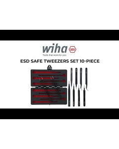 ESD Safe Tweezers Set 10-Piece