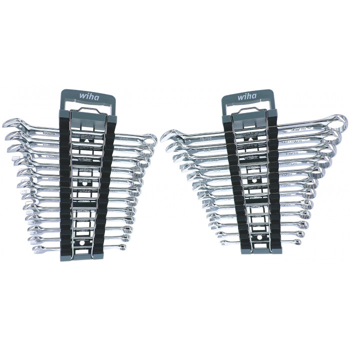 Wiha Combination Wrench Set in Holders