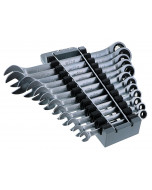 Combination Inch Ratchet Wrenches 12 Piece Set