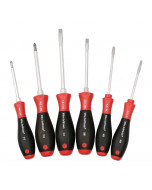 SoftFinish® Heavy Duty Slotted/Phillips 6 Piece Set