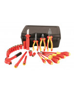 """Insulated 3/8"""" Drive Socket 24 Piece Inch Set"""