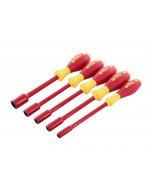 Insulated Nut Driver 5 Piece Inch Set