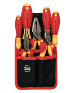Insulated Industrial Pliers/Cutters and Screwdrivers 7 Piece Set