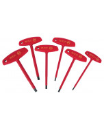 6 Piece Insulated T-Handle Hex Screwdriver Set - Inch