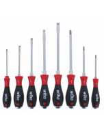 7 Piece SoftFinish® Extra Heavy Duty Slotted and Phillips Screwdriver Set