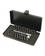 System 4 Slotted/Phillips/Hex Metric/Hex Inch/Torx® Micro Bit 40 Piece Set with ESD Safe Precision Handle